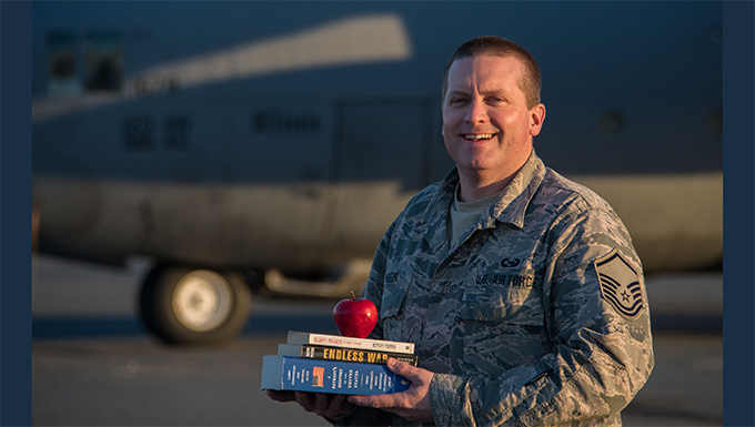 Deployment provides reservist teacher valuable experience for classroom